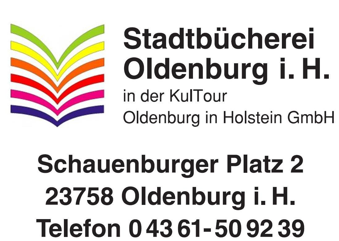 Logo der Stadtbücherei Oldenburg in Holstein